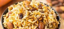Ensalada de arroz persa